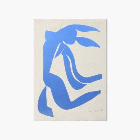 Henri Matisse,Le chevelure från 1952, Blue Hair Artwork, Men, Women, Youth Art Board Print