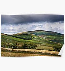 Long Crag, Northumberland National Park, England Poster