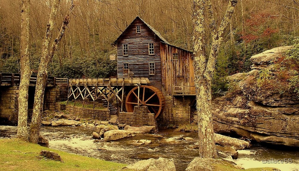 The  Olde  Mill by wallace66