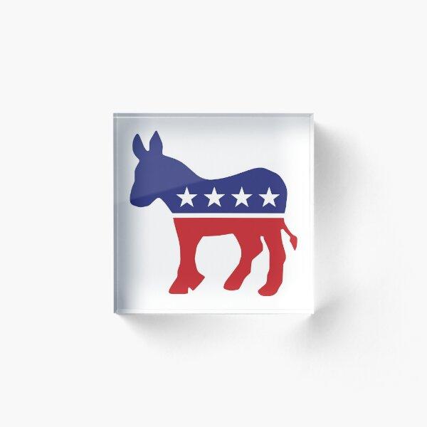 Democrat Original Donkey Acrylic Block