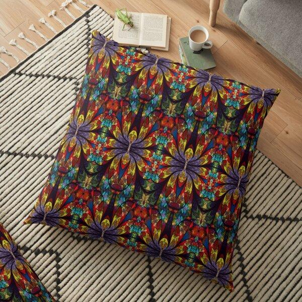 Cool Flower Floor Pillow