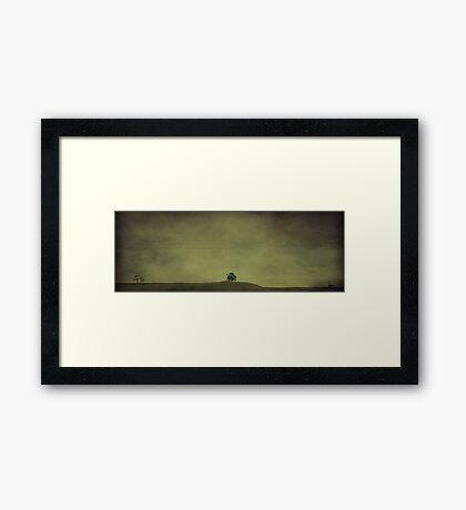 Desolate Horizons Framed Print