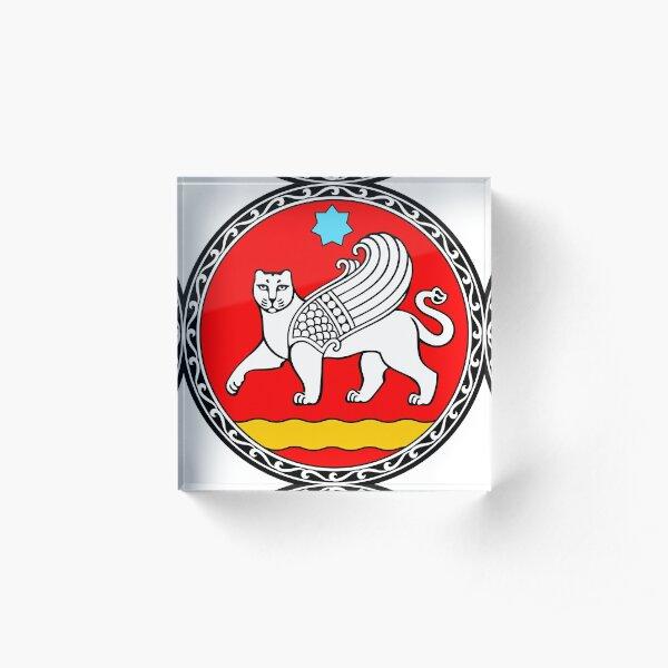 Seal of Samarkand  Acrylic Block
