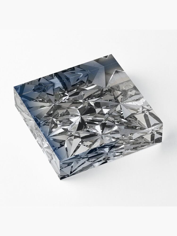 Alternate view of Glitz Acrylic Block