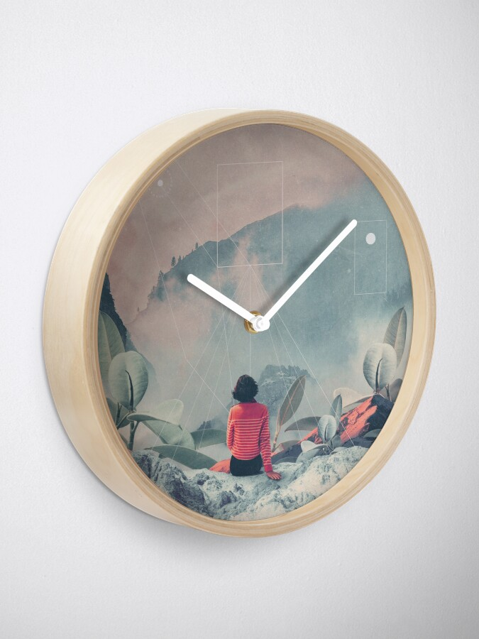 Alternate view of Lost in the 17th Dimension Clock