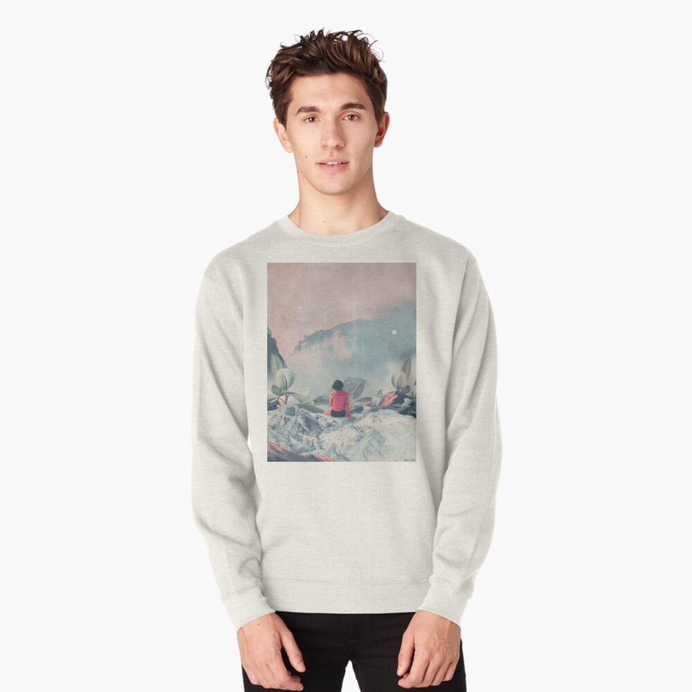 Lost in the 17th Dimension Pullover Sweatshirt