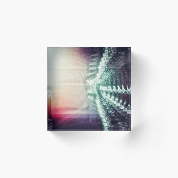 0165 Up Acrylic Block