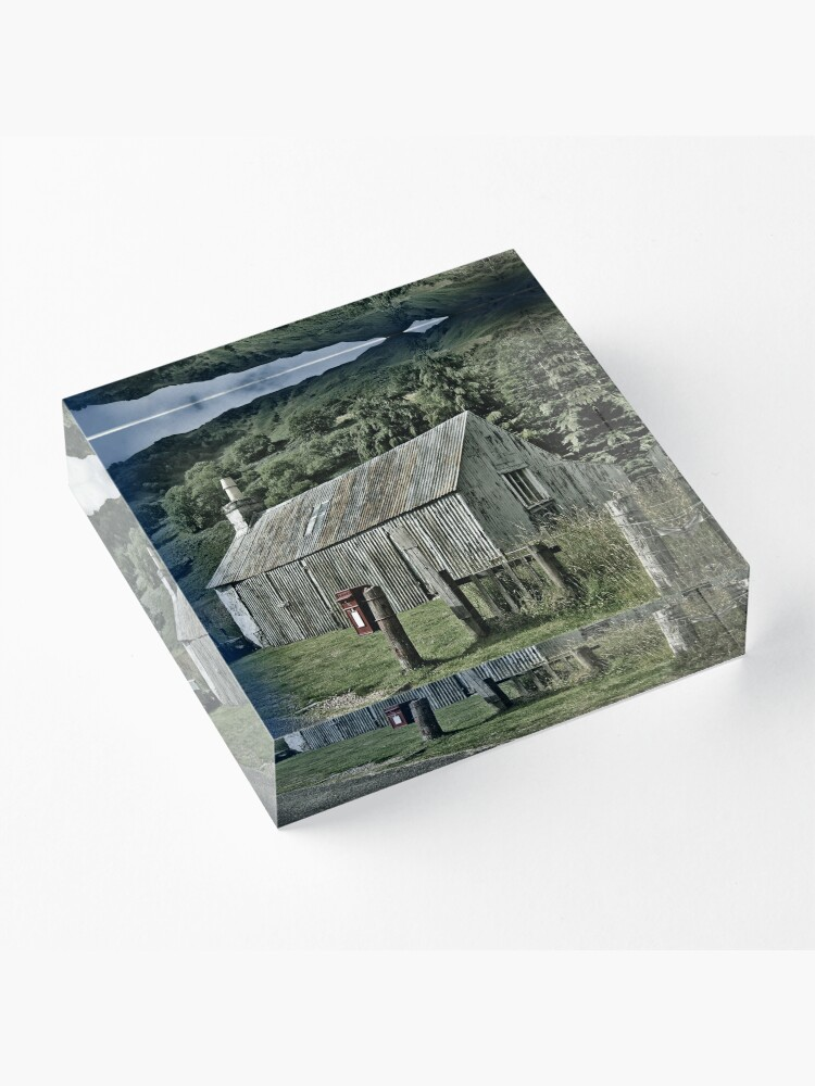 Alternate view of Letterfearn Acrylic Block