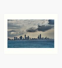Surfers Paradise From Elsewhere Art Print