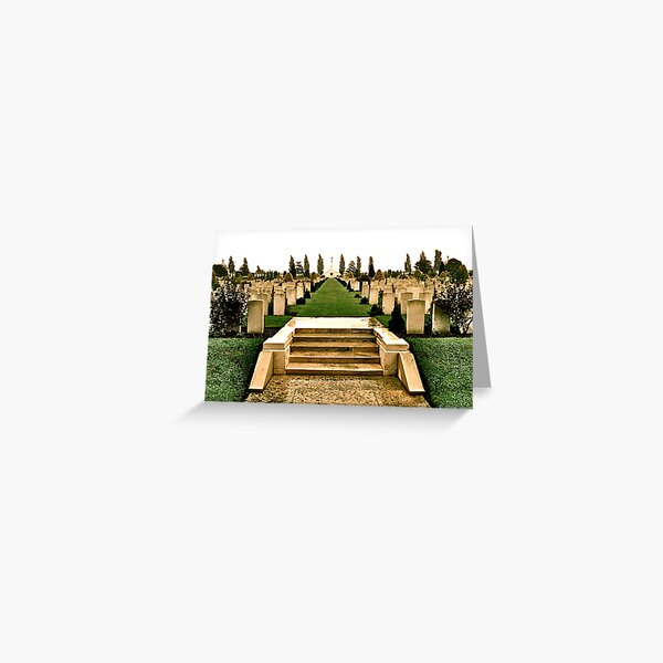 Tyne Cot Greeting Card