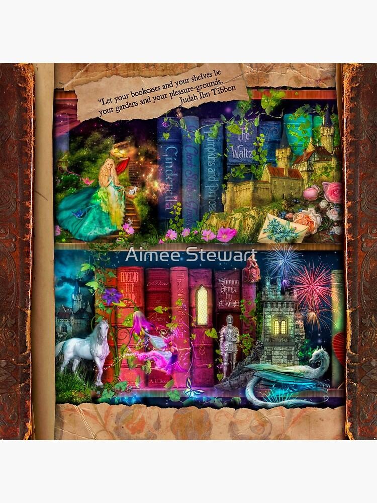 The Curious Library Calendar - December by Foxfires
