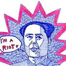 Mao Zedong / I'm a riot<3 by iwantajuicer