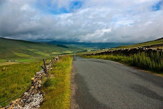 Baggamans Road  (Yorks Dales) by Trevor Kersley