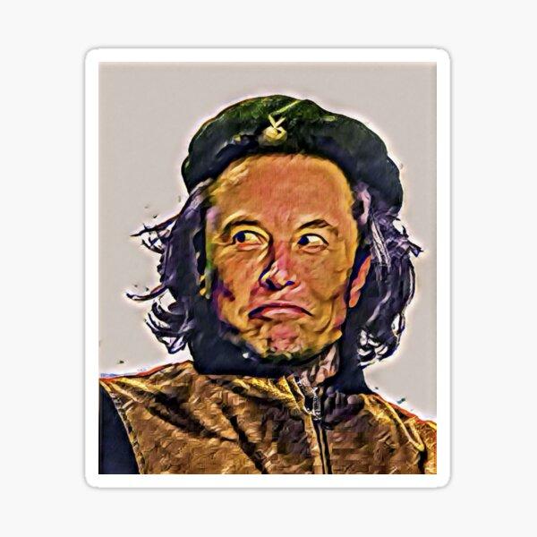 Comrade fElon Sticker