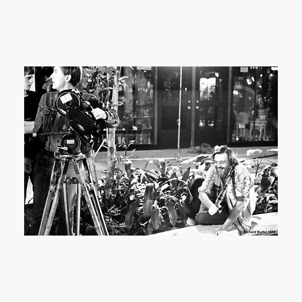 George Romero, The Joy of Directing Photographic Print