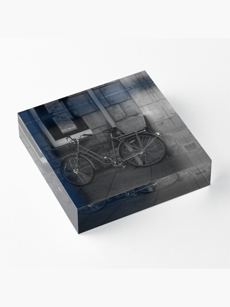 Alternate view of St. Andrews Bicycle Acrylic Block