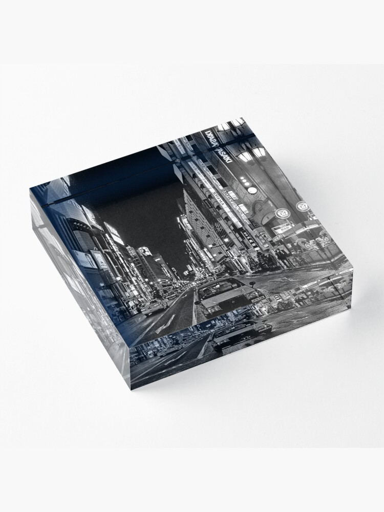 Alternate view of Lost in the City - B+W Acrylic Block