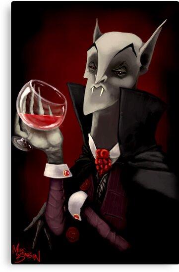The Vampyre by Michael Bombon