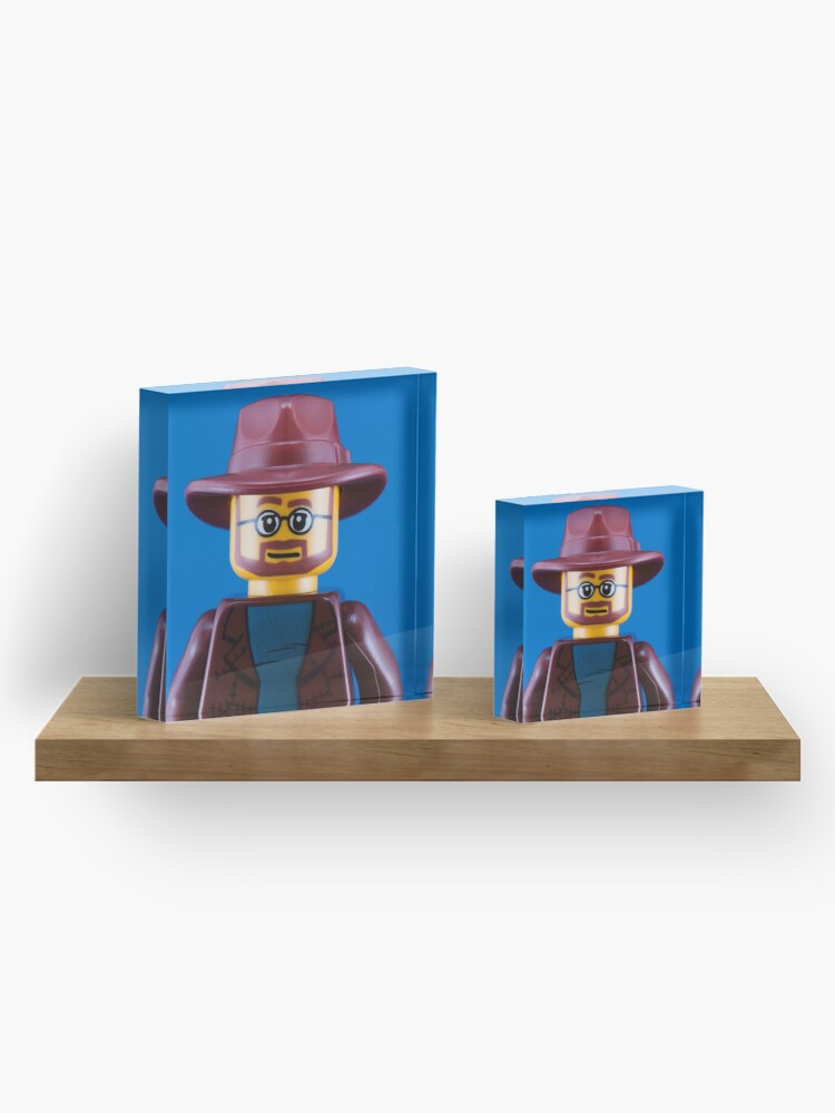 Alternate view of Adam Savage Portrait Acrylic Block