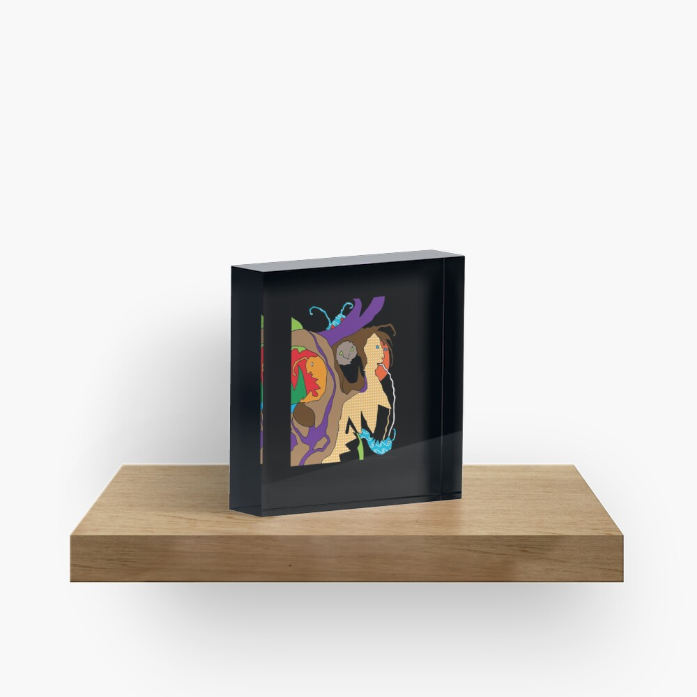 Creatures Y Acrylic Block