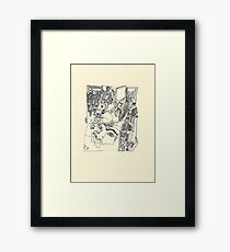 Fragments d'arts #01 Framed Print