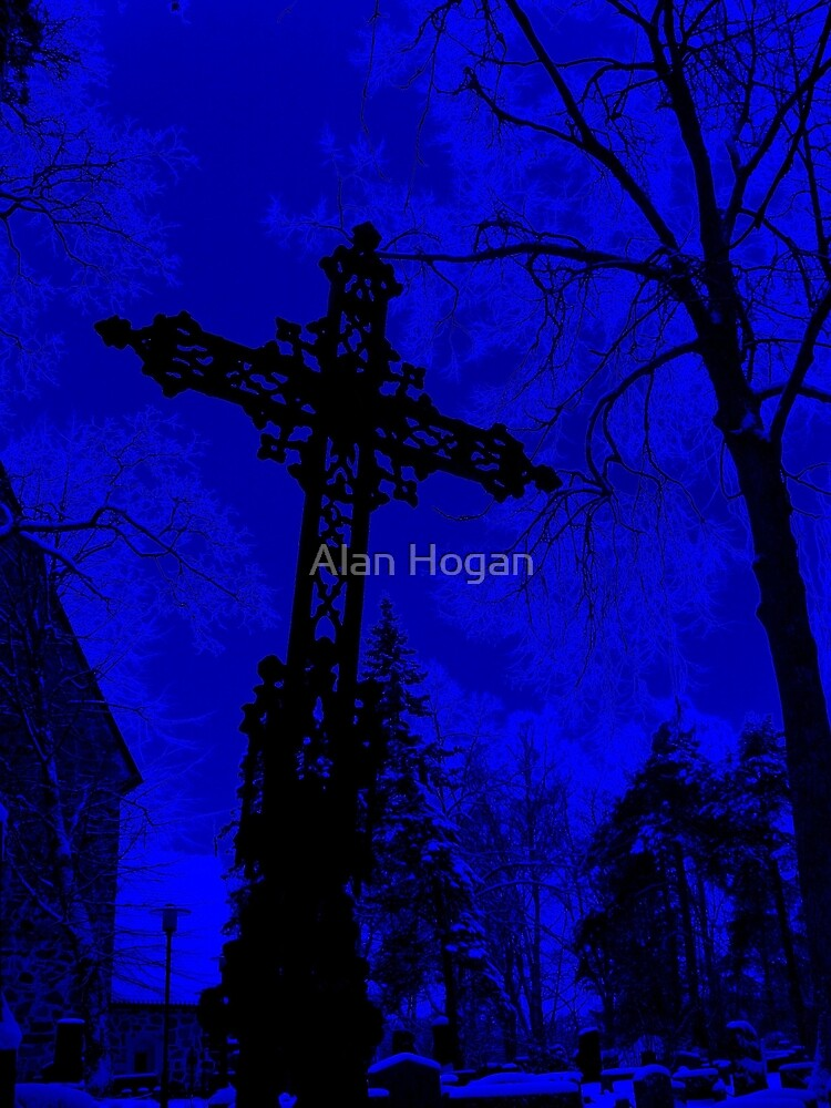 Graveyard Blues by Alan Hogan