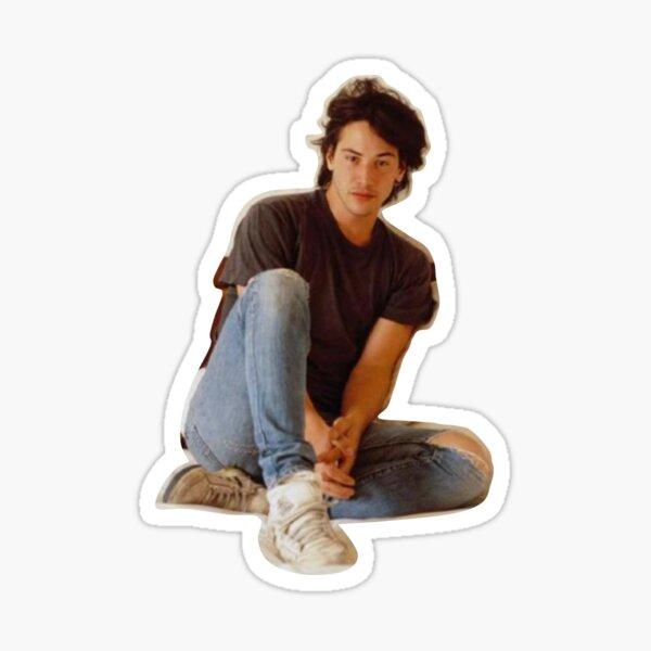 Dreamy Keanu Sticker