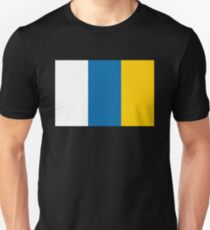 Canary Islands flag Unisex T-Shirt
