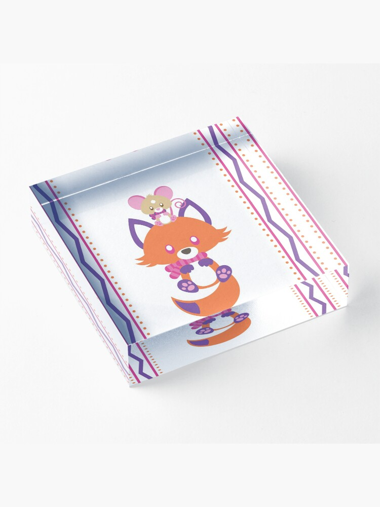 Alternate view of Cozy Critters Acrylic Block