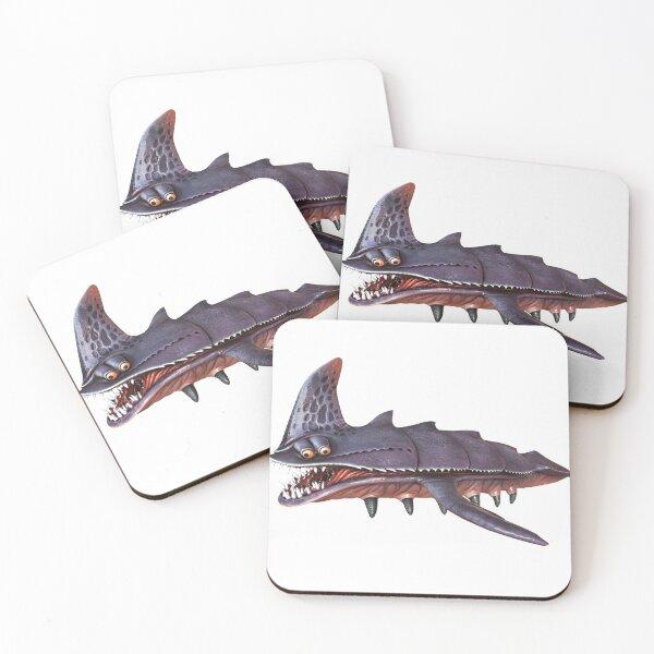 Sandshark Coasters (Set of 4)