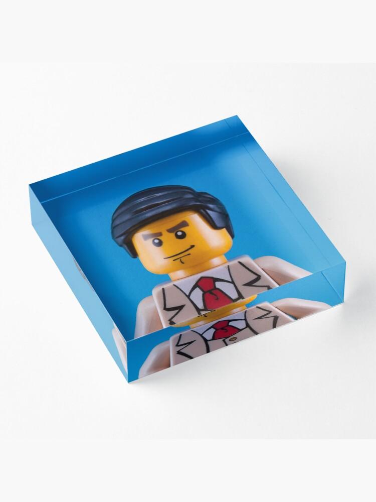 Alternate view of Alan Turing Portrait Acrylic Block