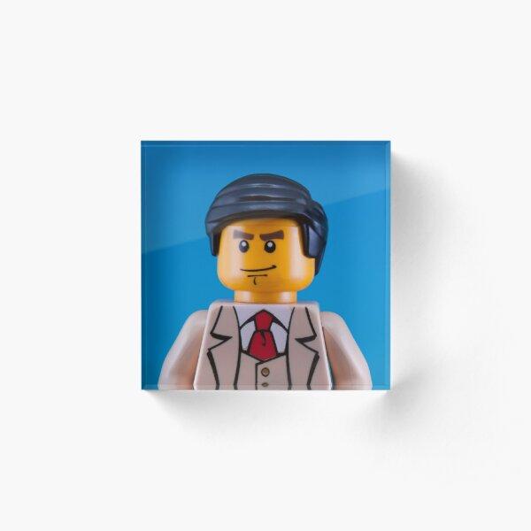 Alan Turing Portrait Acrylic Block