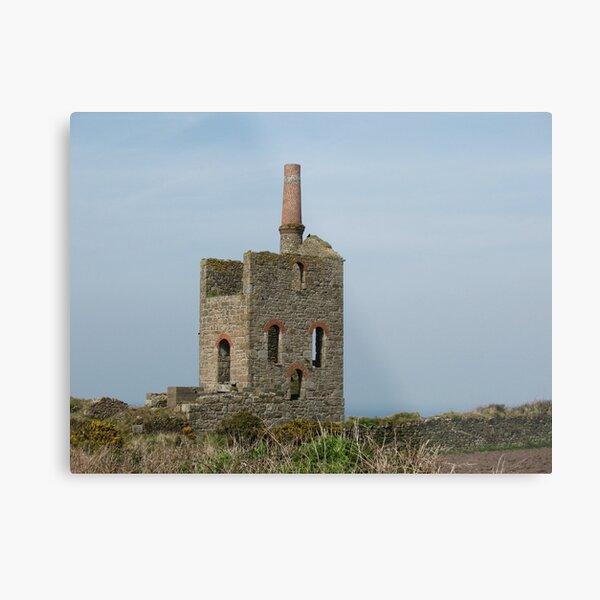 Cornish Tin Mine (5938) Metal Print