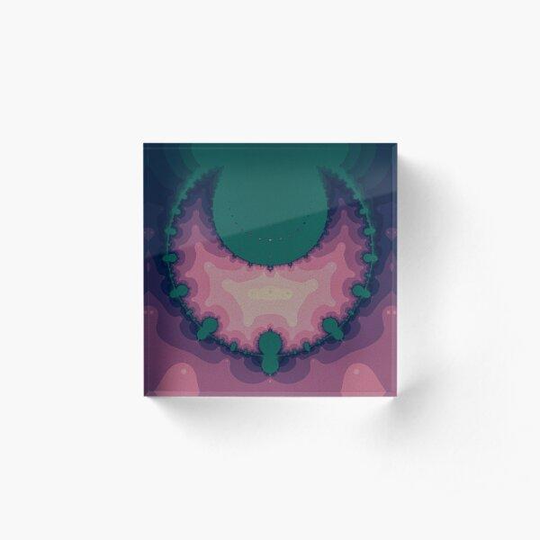 Crescent Moon Acrylic Block