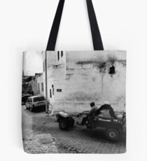 Turkish Village Tote Bag