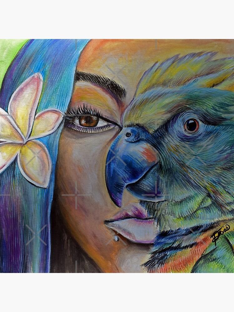Poetic Blue by AtlArtVibez