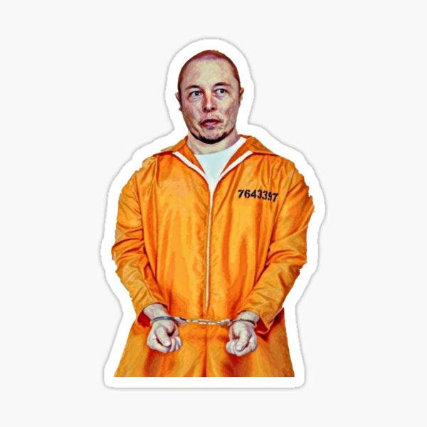 Orange is the new blick Sticker