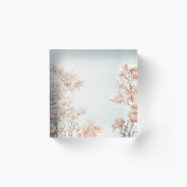 magnolia Acrylic Block
