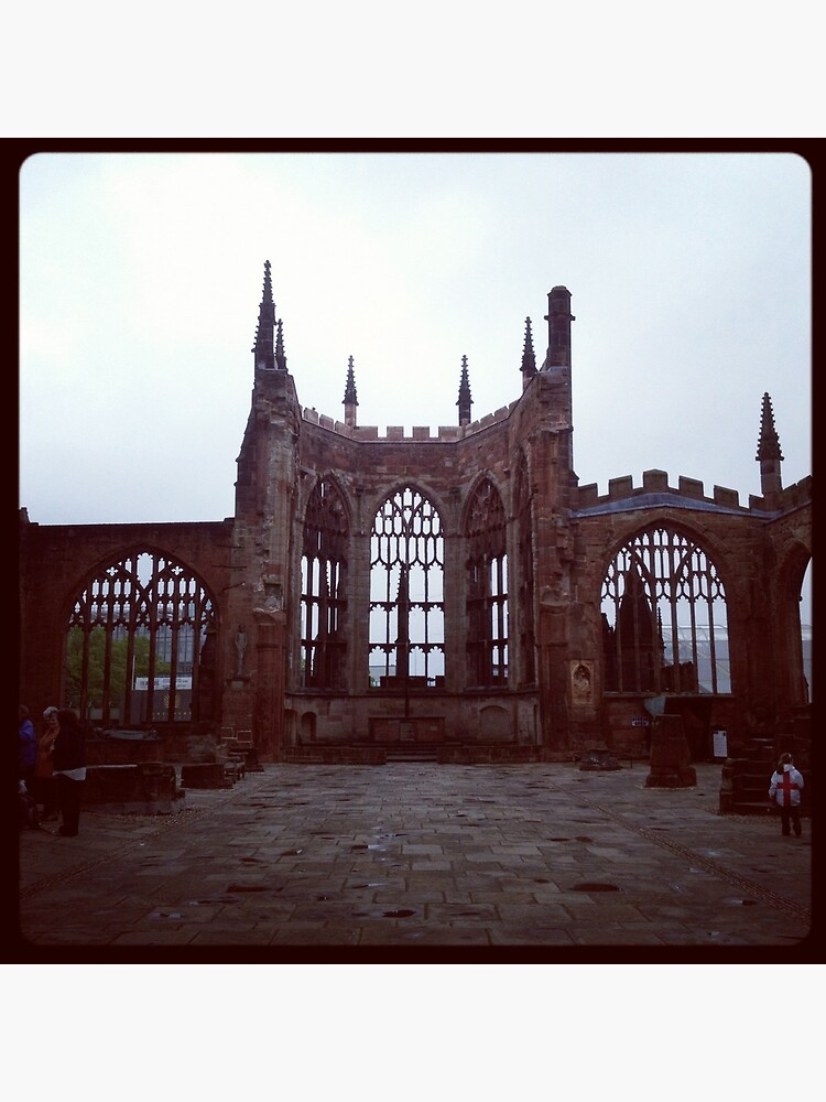 Coventry Old Cathedral by robsteadman