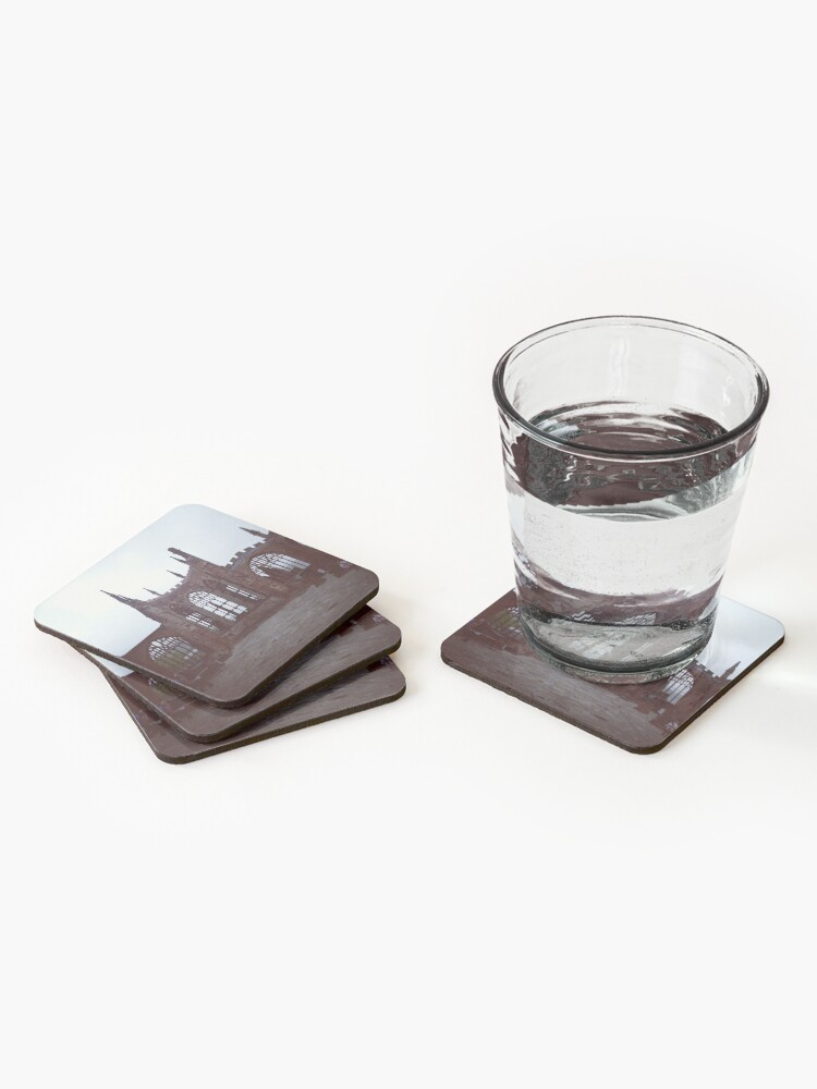 Alternate view of Coventry Old Cathedral Coasters (Set of 4)