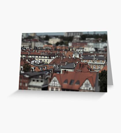 Little cities 07 Greeting Card