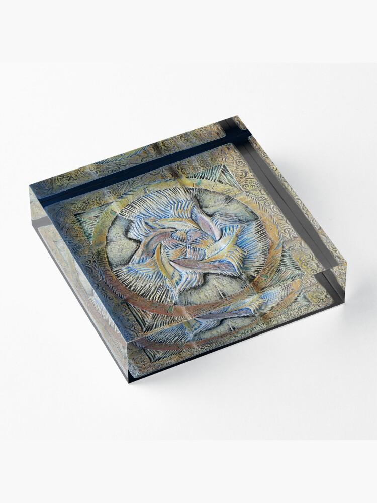 Alternate view of Spiral six: integration Acrylic Block