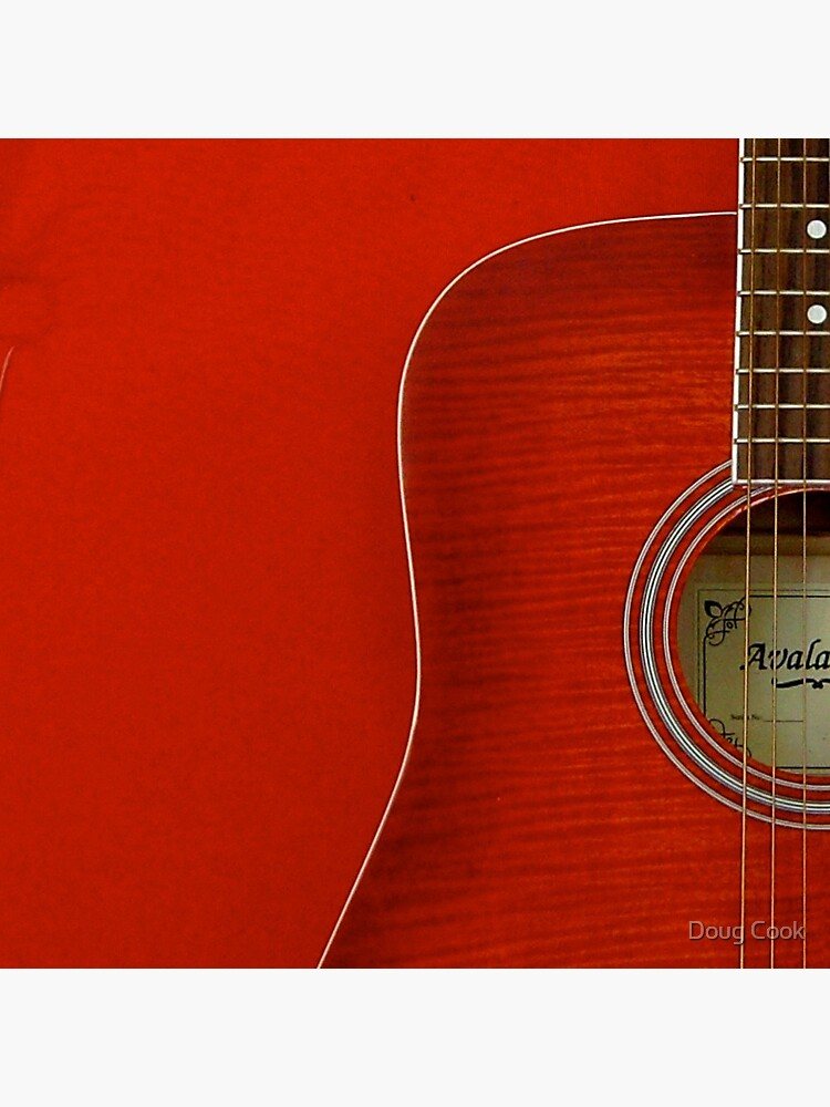 Red Guitar by DougCook