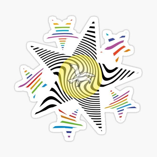 Star Bird Sticker
