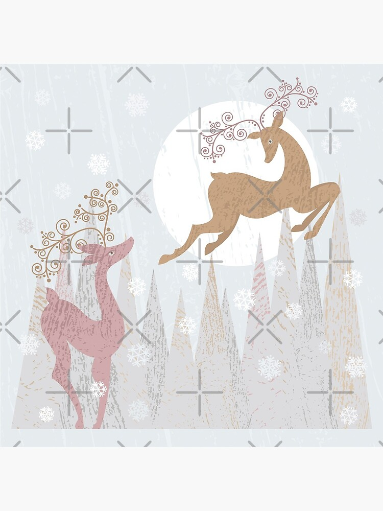 Christmas Deer by rusanovska