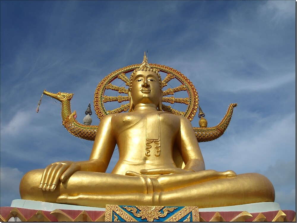 Big Buddha at Koh Samui by Janone
