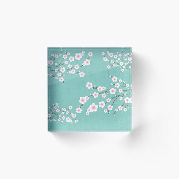Sakura  Acrylic Block
