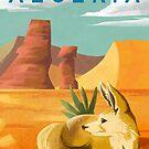 Algeria Travel Poster by finchfish