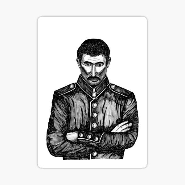 Keeping an Eye on You - Greeting Card (Blank) Sticker