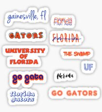 florida sticker sheet Sticker
